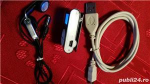 Vand mp3 portabil ,card microsd 8 gb ,cablu date ,casti - imagine 3