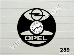 Ceas de perete din vinil Opel - imagine 1