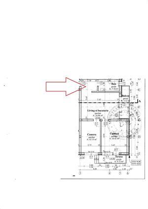 Apartament 3 camere 59 mp,parcare Apahida central - imagine 4