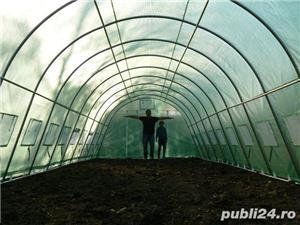 Solar de gradina 4x12 m, 48 mp, teava galvanizata - imagine 5