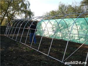 Solar de gradina 4x12 m, 48 mp, teava galvanizata - imagine 17