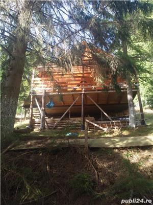 Vând teren cu cabana in Belis la cateva sute de metri de lac. - imagine 1