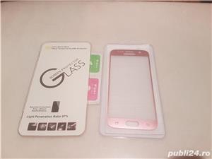 Folie sticla Samsung Galaxy S7 rose pink - imagine 2