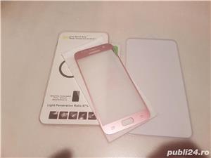 Folie sticla Samsung Galaxy S7 rose pink - imagine 1