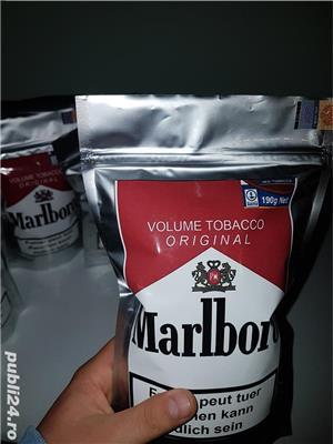 #Tutun Ambalat / Sigilat Marlboro - 190Gr - 50 lei ,pentru injectat/ rulat  ca drum, pueblo, tabac - imagine 4