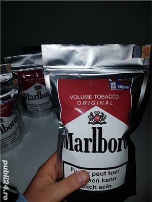 #Tutun Ambalat / Sigilat Marlboro - 190Gr - 50 lei ,pentru injectat/ rulat  ca drum, pueblo, tabac - imagine 3