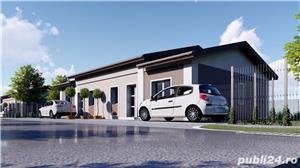 SUPEROFERTA ! Duplex, proiect nou, la asfalt, toate utilitatiile, la cheie, Terasa, teren 400mp.  - imagine 4