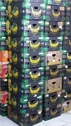 600 cutii, bax , banane, depozitat, transportat fructe,legume, diverse,mutari - imagine 2