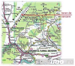 COMISION 0%. Teren 5,000mp Baile Herculane / Piata Hercules - imagine 3