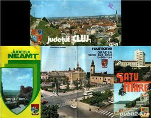 4 broşuri turistice vintage din 4 judeţe - imagine 1
