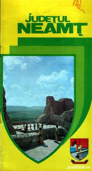 4 broşuri turistice vintage din 4 judeţe - imagine 2