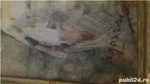 Tablou pe pinză in ulei  de Grigorescu  Fata cu basma galbenă - imagine 3