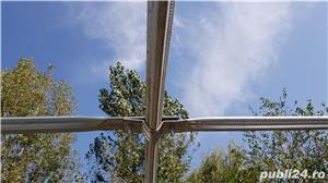 Solar zincat 10 x 4 m pt. legume, flori, rasaduri - 1950 RON - imagine 2