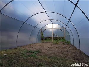 Solar zincat 10 x 4 m pt. legume, flori, rasaduri - 1950 RON - imagine 1