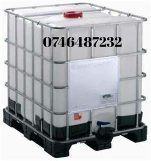 Rezervoare,containere ibc 1000 l si 600 l,butoi inox - imagine 2
