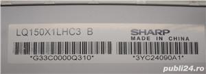 "Display Laptop 15"" Sharp Lampa Mate Code: LQ150X1LHC3 B - imagine 3"