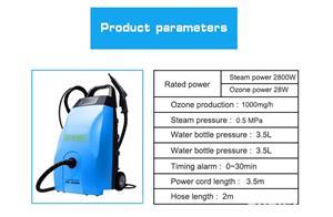 Detailing auto ,curatat  / dezinfectat tapiserii auto cu aburi sub presiune sect.6 - imagine 5