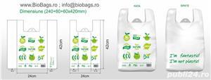 """Pungi 100% biodegradabile - model """"Eco Friendly"""" - imagine 2"""