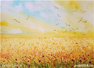 Tablouri cu peisaje flori - imagine 8