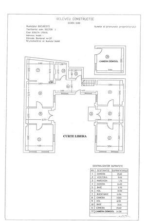 Direct Proprietar 1499 euro, 2 Case, 8 camere, 200 mp  SINGUR CURTE, Pod Titulescu, Metrou Basarab - imagine 10