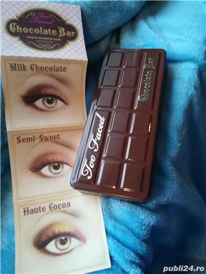Set Trusa Machiaj / Make up Profesionala TOO FACED Chocolate Bar - imagine 11