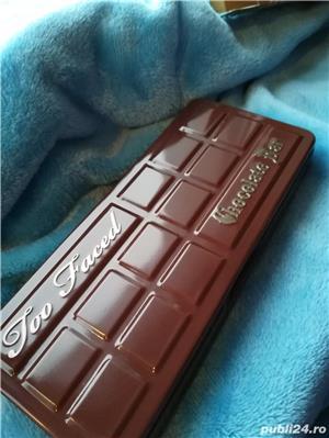 Set Trusa Machiaj / Make up Profesionala TOO FACED Chocolate Bar - imagine 5