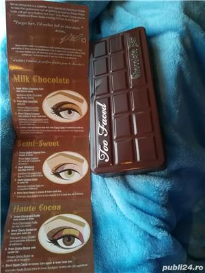 Set Trusa Machiaj / Make up Profesionala TOO FACED Chocolate Bar - imagine 4