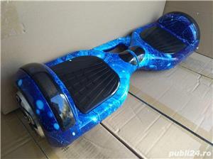 Oferta Hoverboard Auto Balance blue sky - imagine 1