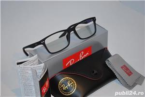 Rame ochelari de vedere RAY BAN 8145 negru mat -  calitate premium  - imagine 2