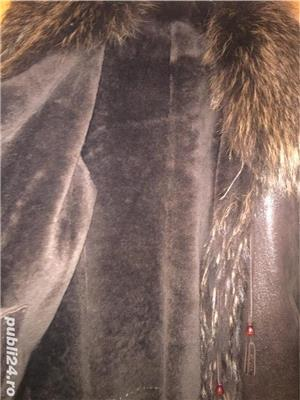 Vând haina piele - imagine 2