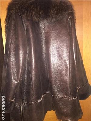 Vând haina piele - imagine 3