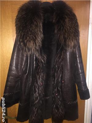 Vând haina piele - imagine 1