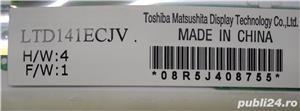 "Display Laptop 14,1"" Toshiba Lampa Mate Code: LTD141ECJV - imagine 3"