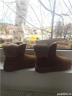 Ugg mini dama,culoare maro - imagine 4