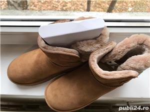 Ugg mini dama,culoare maro - imagine 5