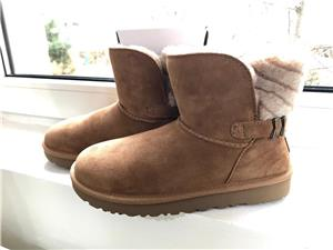 Ugg mini dama,culoare maro - imagine 1