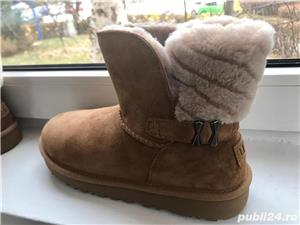 Ugg mini dama,culoare maro - imagine 3