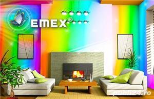 Vopsea Lavabila Antimucegai EMEX  • Bidon 24 Kg •  - imagine 4