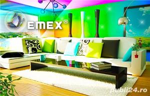Vopsea Lavabila Siliconica Interior EMEX  • Bidon 24 Kg •  - imagine 2
