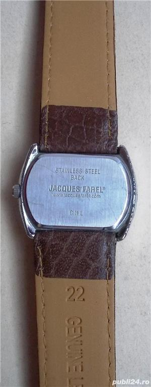ceas dama Jacques FAREL, japan mvt, aspectuos, functional - imagine 4