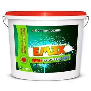 Vopsea Lavabila Antimucegai EMEX  • Bidon 24 Kg •  - imagine 1
