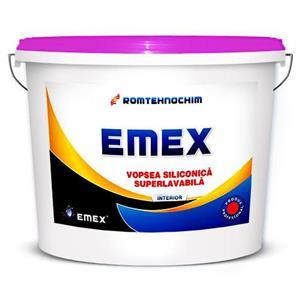 Vopsea Lavabila Siliconica Interior EMEX  • Bidon 24 Kg •  - imagine 1