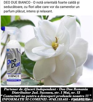 Deo Due Bianco - parfum camera si masina - imagine 2