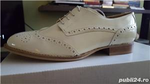 Pantofi piele lacuita - imagine 5