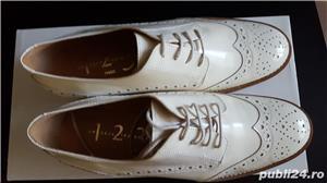 Pantofi piele lacuita - imagine 2