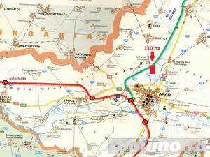 BRUKEN - teren de vanzare, 110 ha in Arad (Sofronea) - imagine 1