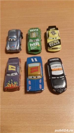 Vand jucarii ,masinute,in stare buna,  din seria THE CARS la set de 6  - imagine 1