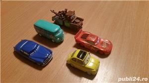 jucarii ,masinute,in stare buna,  din seria THE CARS la set de 5 - imagine 2