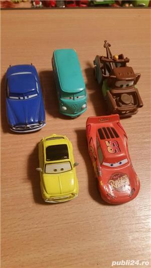 jucarii ,masinute,in stare buna,  din seria THE CARS la set de 5 - imagine 1