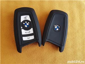 Husa Silicon pt Cheie BMW Seria 1,Seria 3,Seria 5 S.A,Logo,Noua - imagine 1